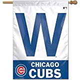 """Chicago Cubs """"W"""" Win Home and House Flag"""