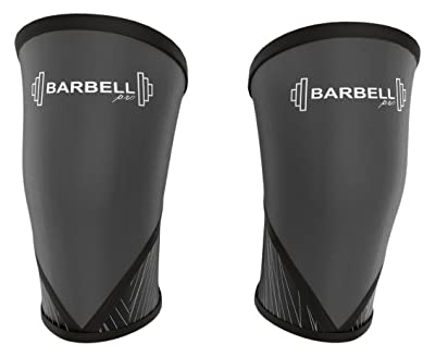 Barbell Pro Knee Compression Sleeve Squat Support