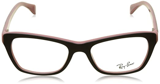 246d8deb3f0 Amazon.com  Ray-Ban Women s RX5298 Eyeglasses Azure 53mm  Clothing