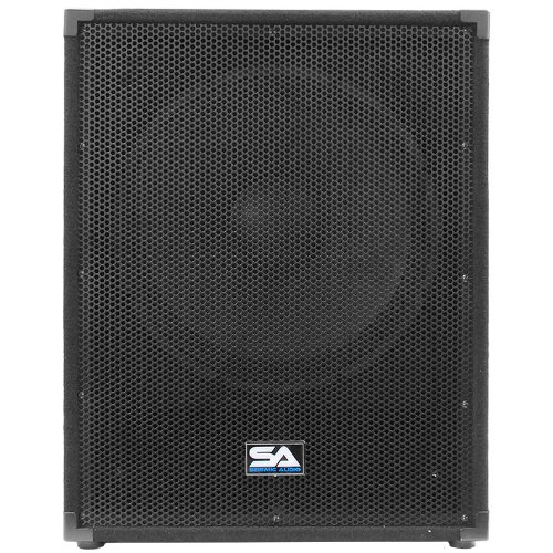 Seismic Audio - 18'' PA Subwoofer PRO Audio Band Speaker Cabinet Sub - Band, Bar, Wedding, Karaoke, DJ, 18 Inch Cab
