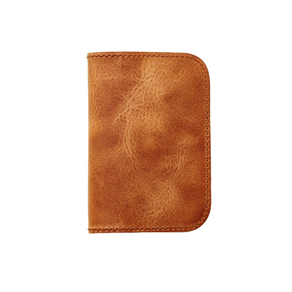 [DUJES] Genuine Leather Travel Passport Wallet JB812-005 (NATURAL)