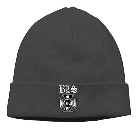 cbbe48e404356 Amazon.com  Black Label Society Doom Crew Winter Beanie Hat Hipster ...