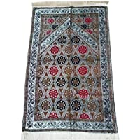 Prayer Mat Muslim FW001 Chenille Islamic Turkish Lightweight Sajadah Gift Eid Ramadan Prayer Rug Carpet