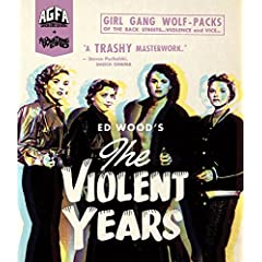 American Genre Film Archive and Something Weird announce new 4k transfer of Ed Wood's THE VIOLENT YEARS