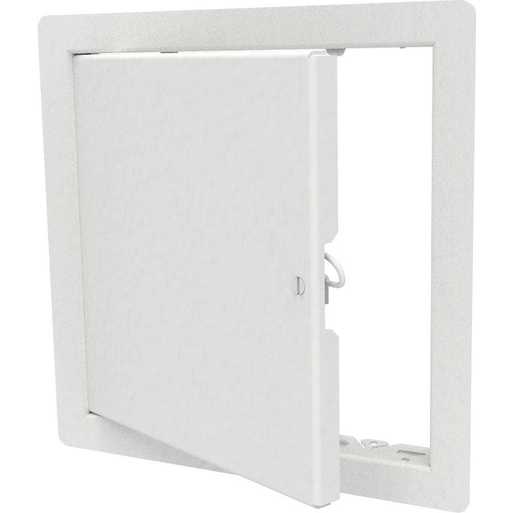 Babcock-Davis 12'' x 12'' Architectural Access Door, White, Flush Mount, Cam Latch