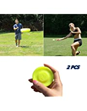 SuperCat Zip Chip Frisbee Mini Pocket Flessibile Soft New Spin in Catching Game Flying Disc 2PCS