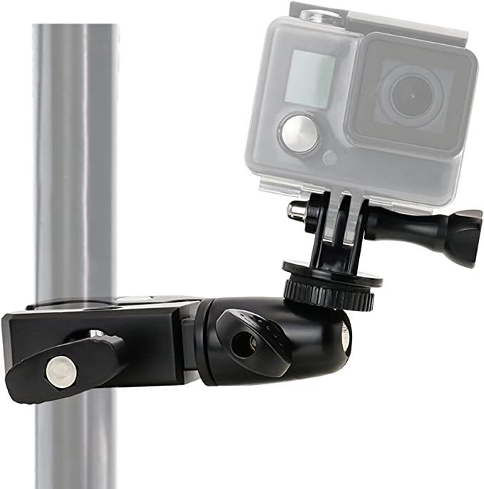 Bike Motorcycle Aluminum Handle Bar Mount Adapter GoPro HD Hero 1//2//3//3+//4