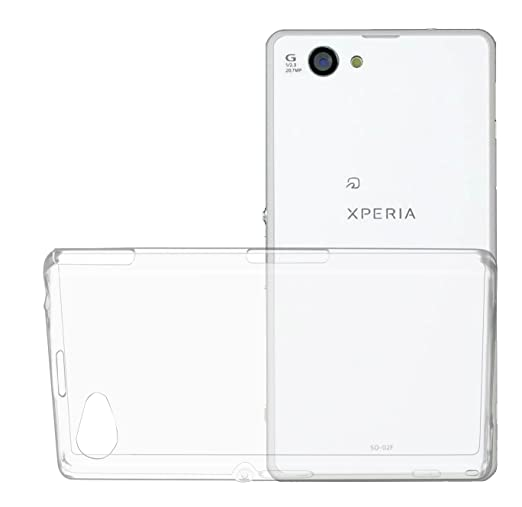 9 opinioni per Oats® Custodia- Sony Xperia Z1 Compact 0,3 mm crystal clear Cover Case Bumper