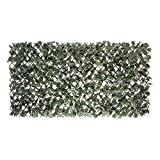 "Expandable Faux Ivy Willow Privacy Fence 36"" x 72"" (Optimal Position)"