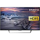 Sony Bravia KDL49WE753 (49-Inch)  Premium Full HD HDR TV (X-Reality PRO, Triluminos Display) - Black (2017 Model)