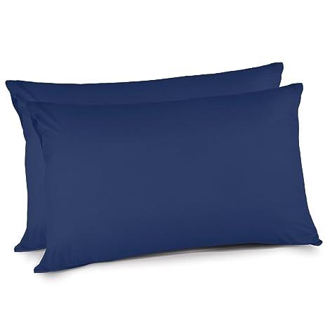 Amazon iHomy Pillow Cases Queen Size Brushed Microfiber