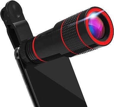 Teleobjetivo, iPhone cámara Lentes de Zoom para teléfono móvil ...