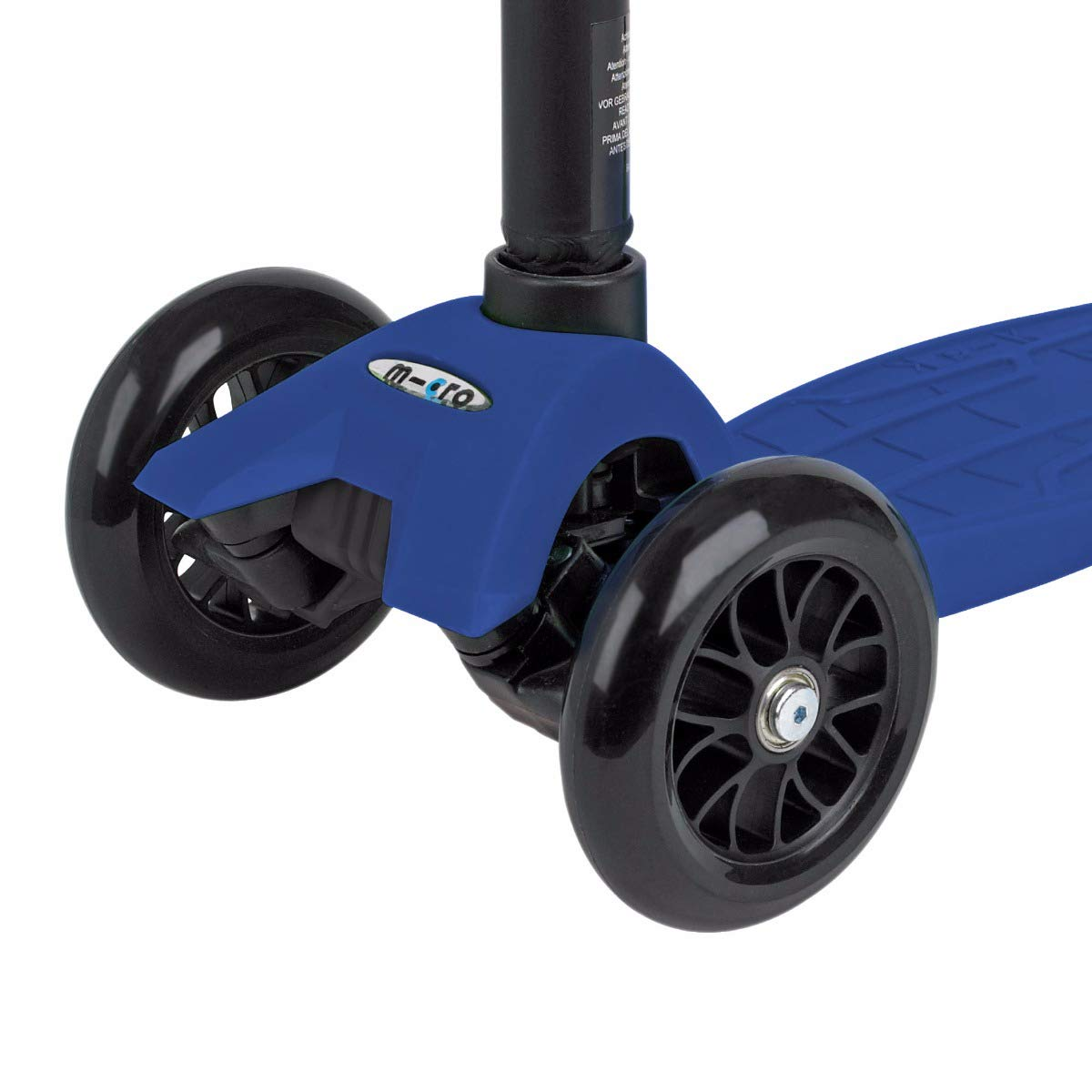 Micro maxi Tbar scooter black