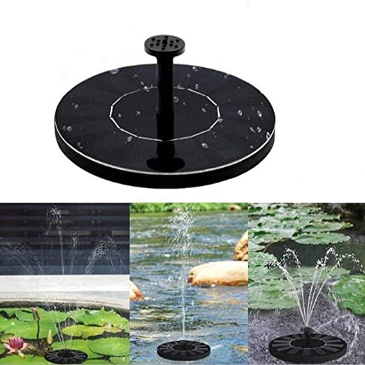 YYLKKB Mini Fuente de energía Solar Jardín Estanque de Piscina Panel Solar Fuente Flotante Decoración de jardín Fuente de Agua: Amazon.es: Jardín
