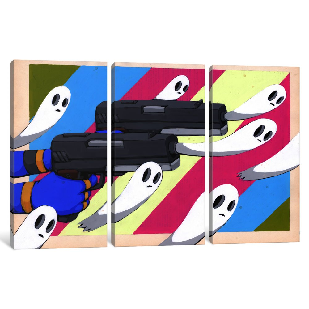 iCanvasART 3-Piece Making New Ghosts Canvas Print by RIC Stultz 1.5 by 60 by 40-Inch