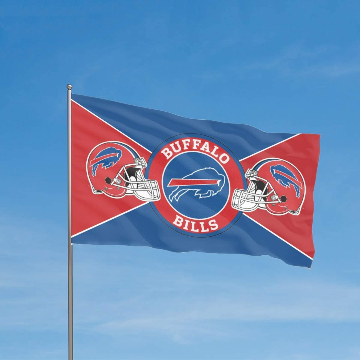 Stockdale Buffalo Bills Flag Champion Outdoor Decor Banner 3 x 5 FT