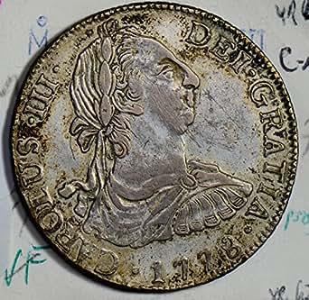 1778 MX M0158 Mexico 8 Reales vintage silver DE PO-01