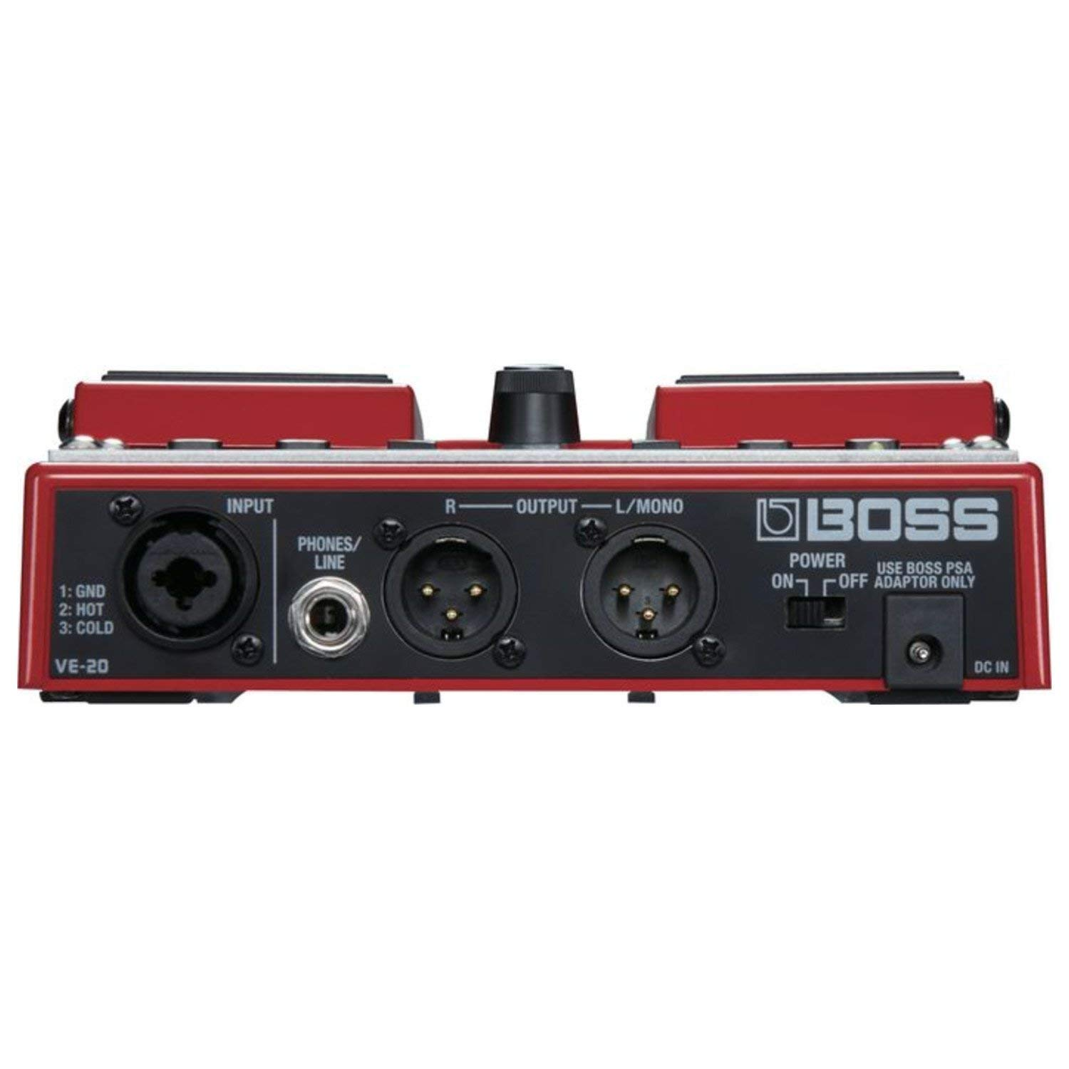Boss VE-20 Vocal Performer Vocal Processor Pedal w/ Power Supply by BOSS (Image #3)