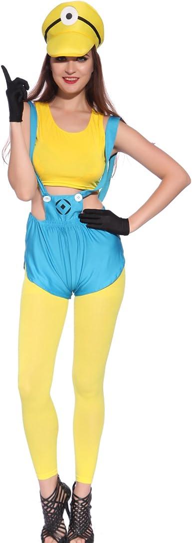 MABOOBIE - Disfraz de Minion para mujer: Amazon.es: Ropa y ...