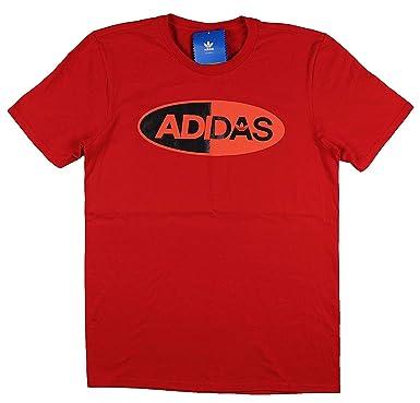 Amazon T Crimson Black Clima Red Shirt Logo At 2 Men's Adidas Medium f76vyYbgmI