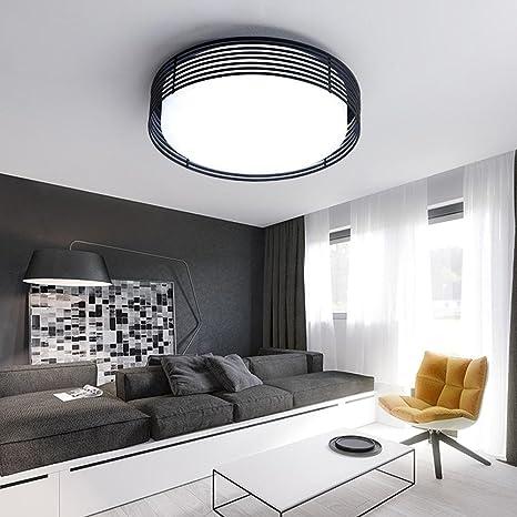 LED Circular Lámpara de techo Creativo Personalidad Moderno ...