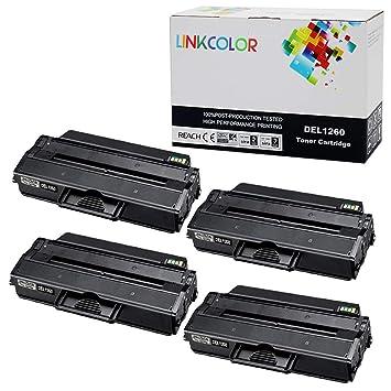 Amazon.com: Linkcolor - Cartucho de tóner para Dell B1260dn ...