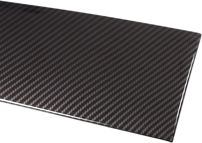 YIWANG Carbon Fiber Style ABS Center Console Decoration Panel Cover Trim 3pcs for Jaguar XF 2016-2018 Left Hand Drive Auto Accessories