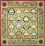 Quakertown Ladies of the Sea Quilt Applique 12 Pattern BOM Set