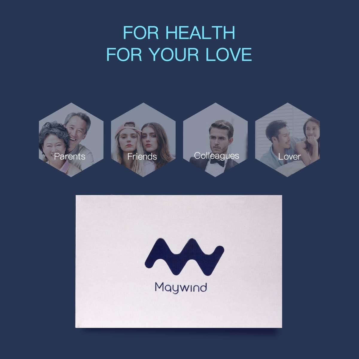 Ribivaul Maywind Oreiller avec Micro Billes dair pour douleurs cervicales et Soutien du Dos Lavable en Machine