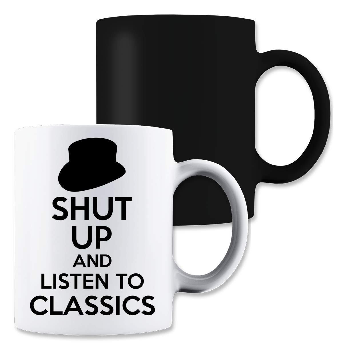 ShutUp and Listen to Classics Magische Tee-Kaffeetasse