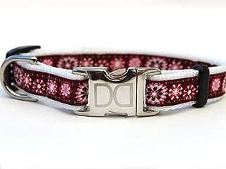 product image for Diva-Dog Carnation Velvet Collar/Leash