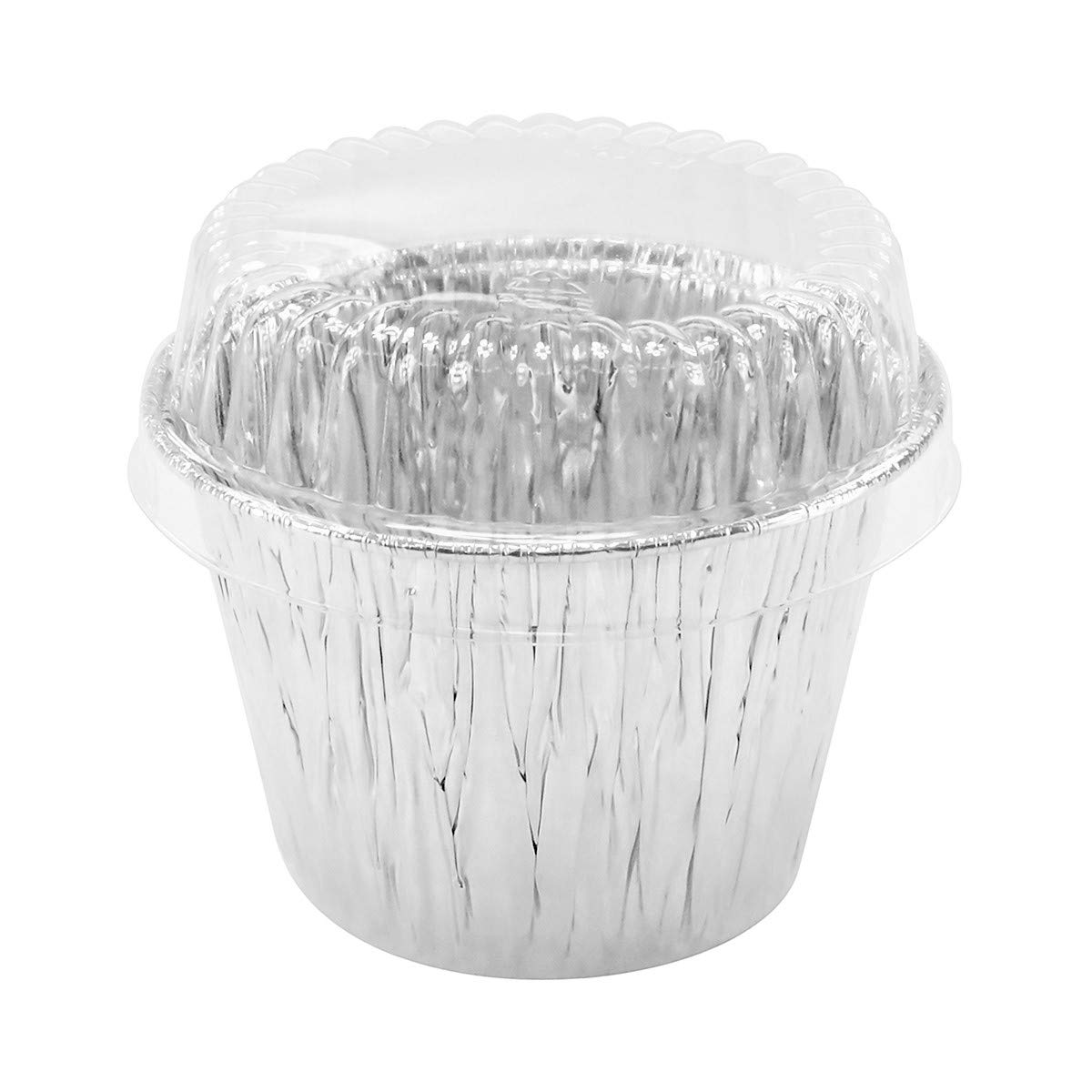 Disposable Aluminum 7 oz. Baking Cups/Cake Cups/Dessert Cups #1210P (50) by AGIANT (Image #1)