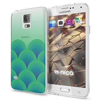 NALIA Funda Carcasa para Samsung Galaxy S5 S5 Neo, Protectora Movil TPU Silicona Fina Gel Transparente Cubierta Goma Bumper Cover Case Cristal Clear ...