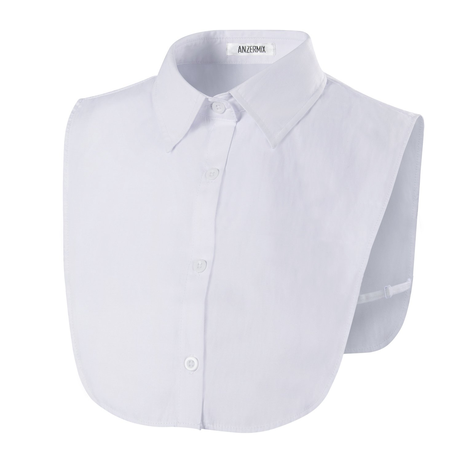 Anzermix Peterpan Fake Collar Detachable Dickey Blouse Half Shirts CA0077