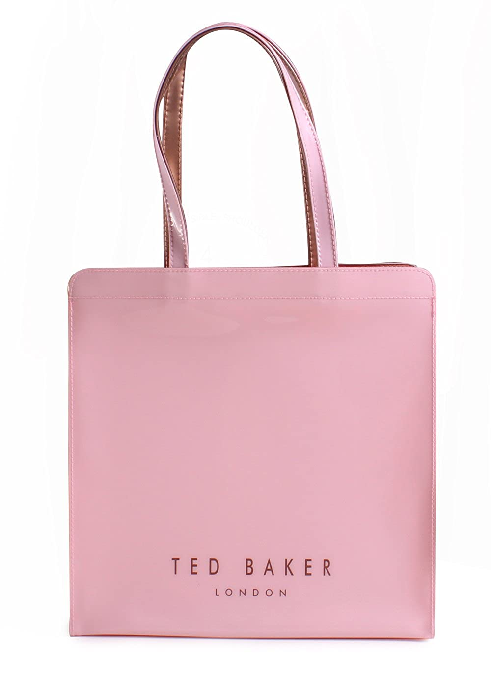ba7e49f64b33ea Ted Baker London Vallcon Bow Detail Large Icon Bag in Pale Pink   Amazon.co.uk  Clothing
