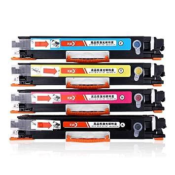 Compatible con el Cartucho de tóner CE310A para Color Laserjet ...