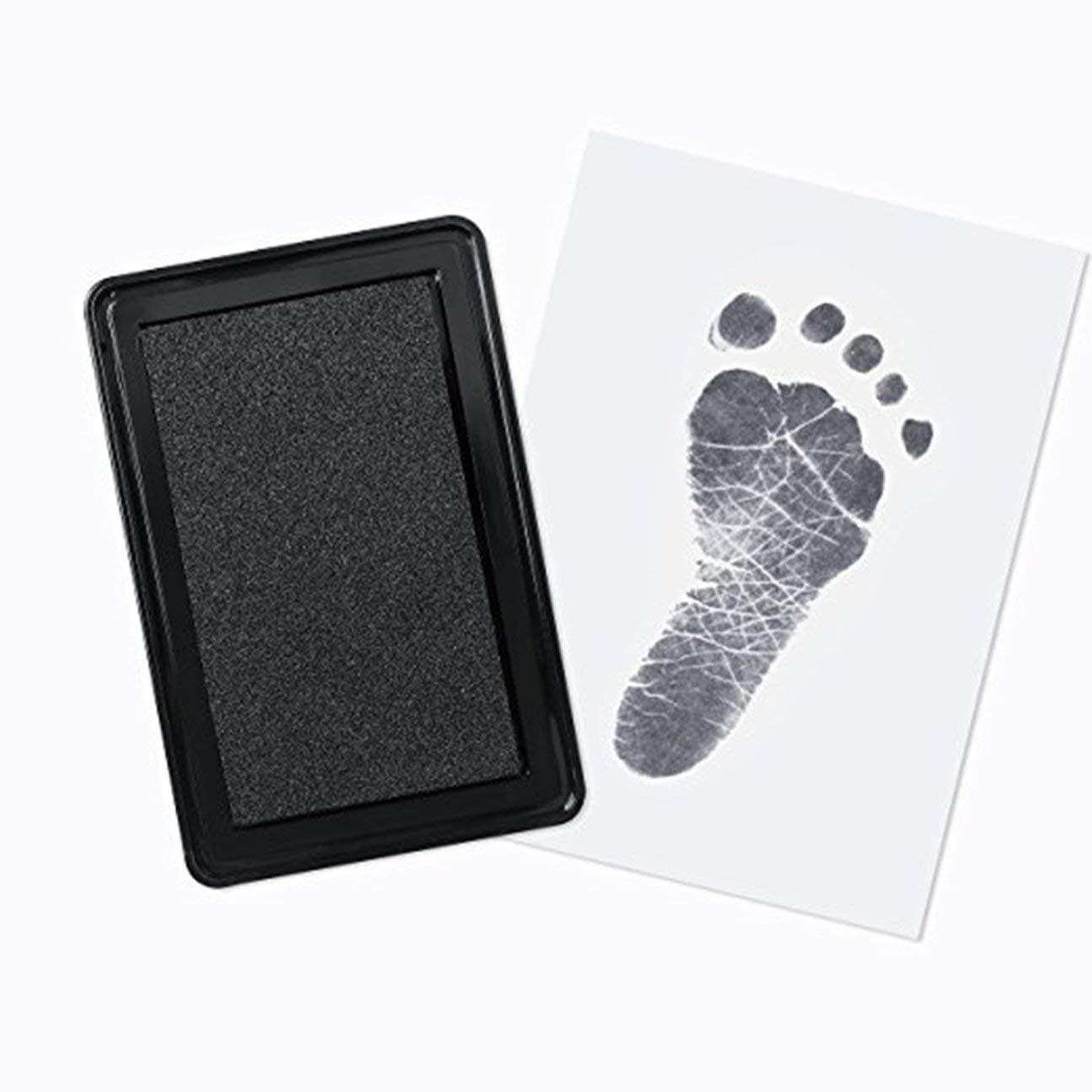 MachinYester Baby Hand Foot Ink Pad Hand And Footprint Handprint Oil Black /& White