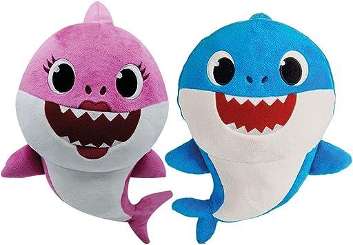 BANDAI ESPAÃA S.A. Baby Shark Peluche Musical - Familia: Amazon.es: Juguetes y juegos