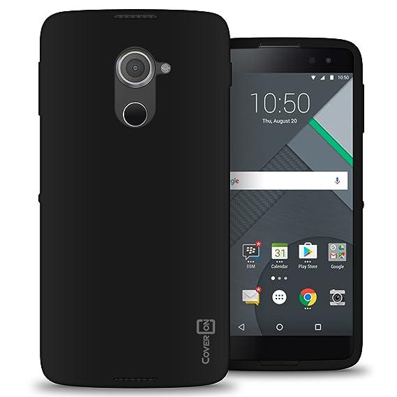size 40 ce818 8ce96 Alcatel Idol 4S Case, CoverON [FlexGuard Series] Slim Soft Flexible TPU  Rubber Phone Cover Case for Alcatel Idol 4S / Idol 4S Windows 10 - Black