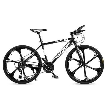 Bicicleta de montaña VTT para Adultos 26 Pulgadas de una Rueda ...