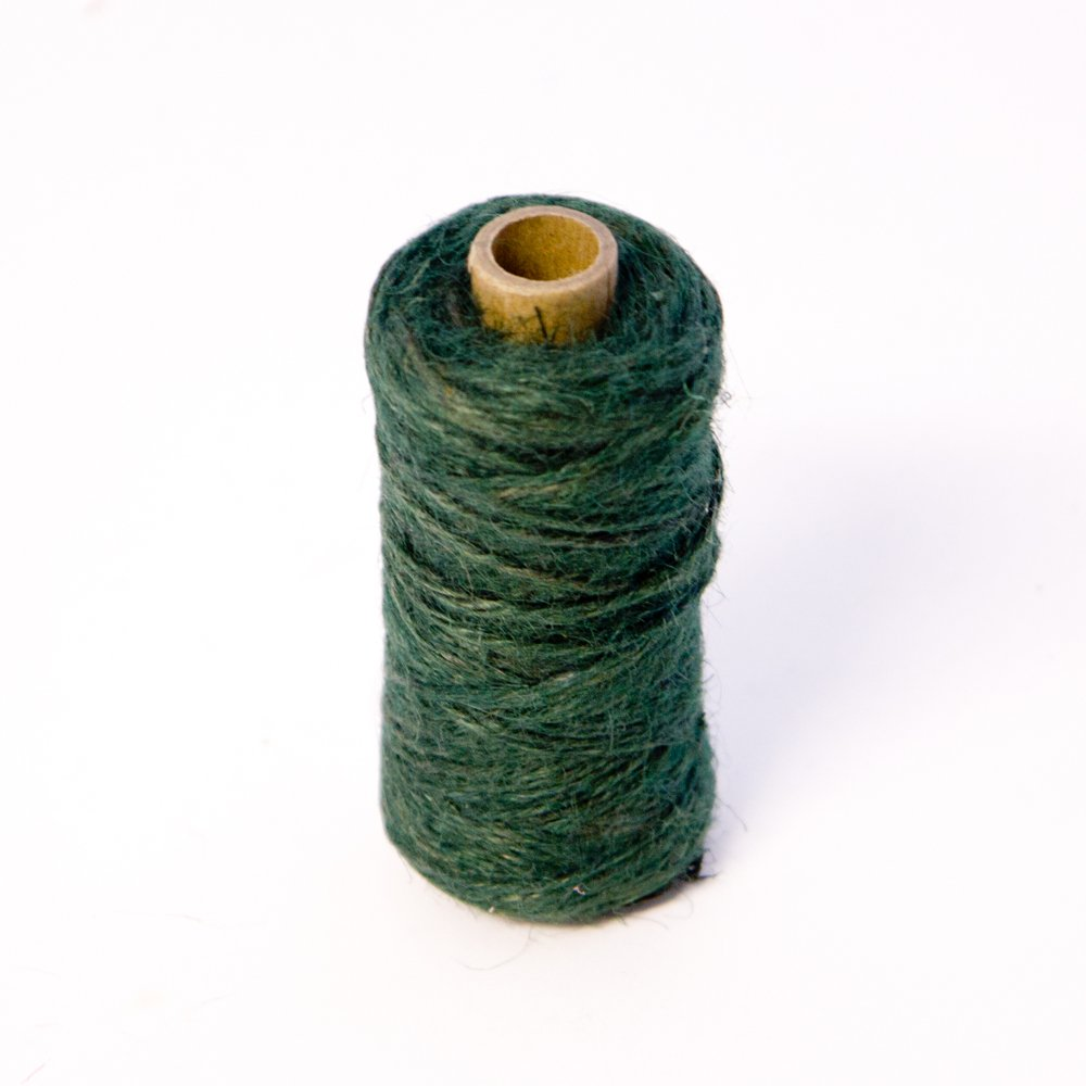 3 Rolls Oasis Mossing Jute Twine String Tie- Green x 75m per roll. For Florist, Floral, Flowers, Garden, Plants, Crafts Smithers Oasis