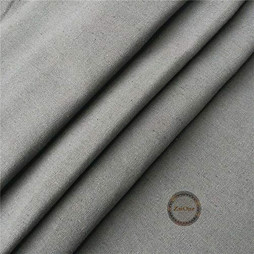 (ZAIONE Cotton Linen by The Yard Width 58