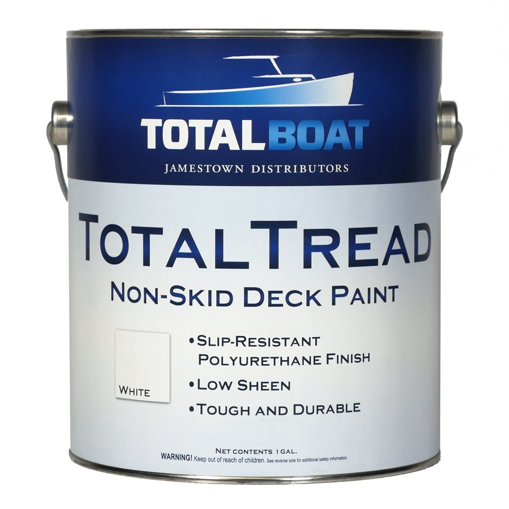 TotalBoat TotalTread Non Skid Deck Paint (Gray, Gallon)