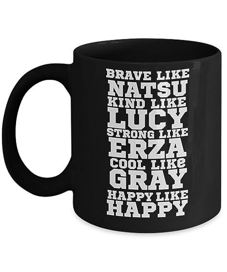 Merchandise Lucy Cup Brave Gray Fairy Cocoa Slayer Happy Mug Novelty Anime Coffee Is Tale Erza Dragon Tea Wizard 11 Oz NatsubByTrinketsamp; Like 1clJTFK