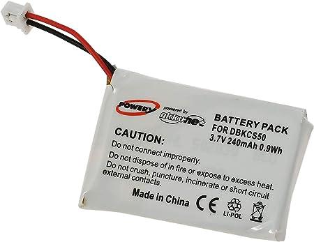 Akku Passend Für Headset Plantronics Cs60 Cs55 Cs50 Elektronik