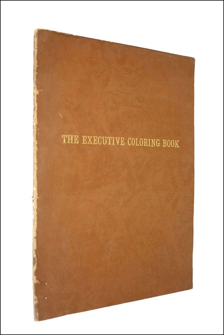 Executive Coloring Book Marcie Hans Amazon Books