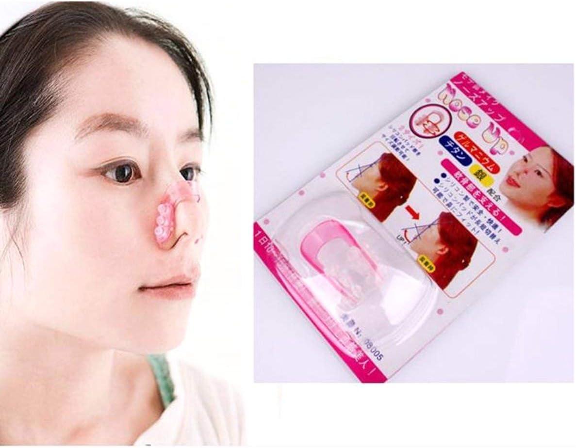Gugutogo Nasenclip Nose Up Shaping Shaper Lifting Bridge Gl/ättende Sch/önheit Nasenclip Nasenmassageclip Facial Clipper Corrector