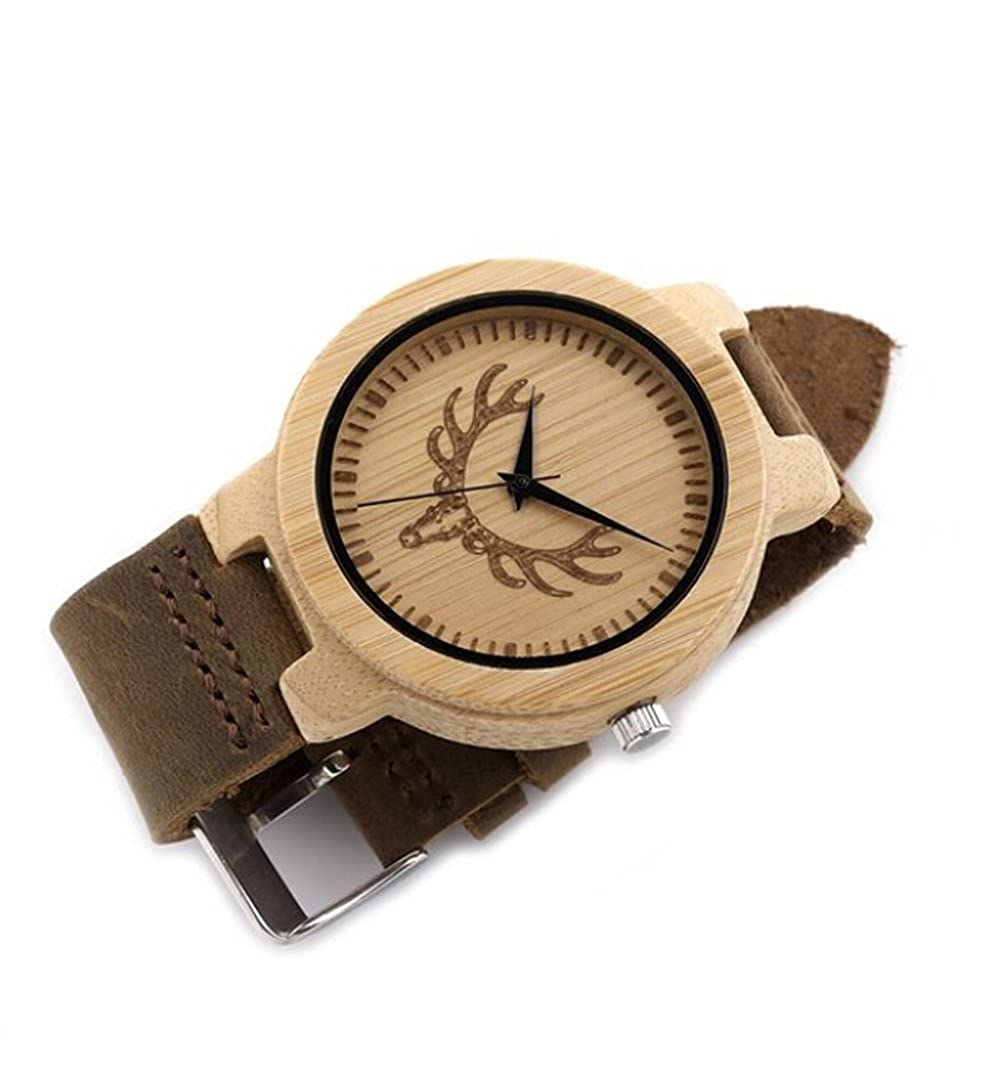 Amazon.com: Engraved Watches Custom Wooden Watch Personalized Boyfriend Gifts Wedding Anniversary Gift: Watches