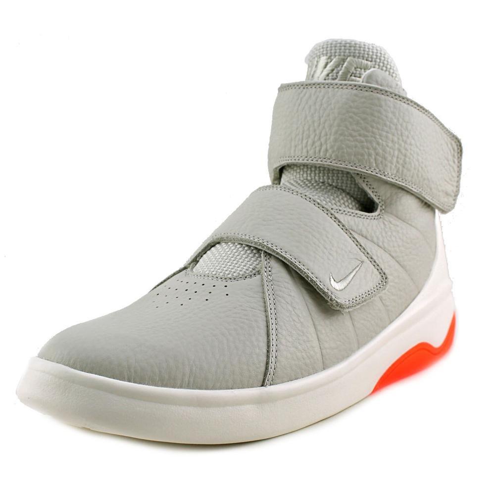 NIKE Kids Marxman (GS) Light Bone/Light Bone/SL/TTL Crmsn Basketball Shoe 6.5 Kids US
