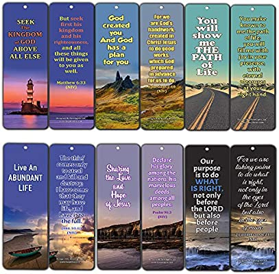 Bible Verses About Life Purpose (12 Pack) - Collection of
